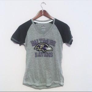 Majestic Baltimore Ravens Short Sleeve Top